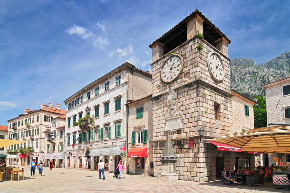 Things to do in Kotor clock tower