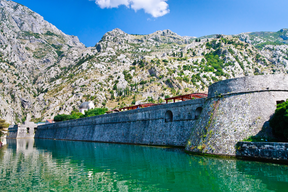 Things to do in Kotor Old Town fortification wall