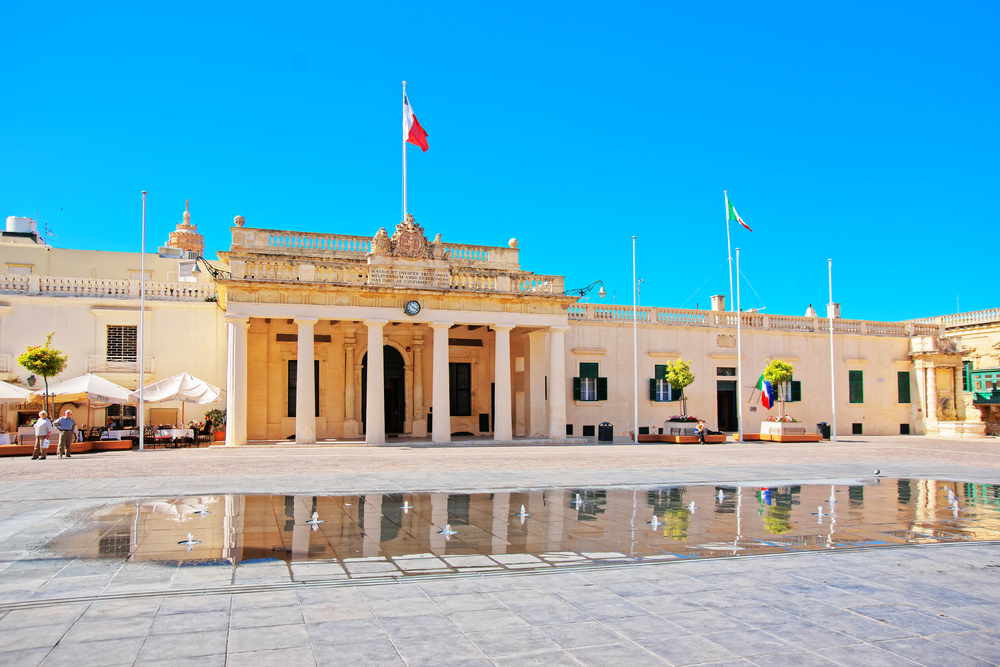 Places to visit in Malta St George Square