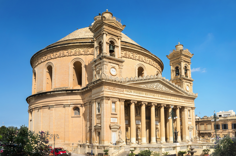 places to visit in malta Mosta Dome