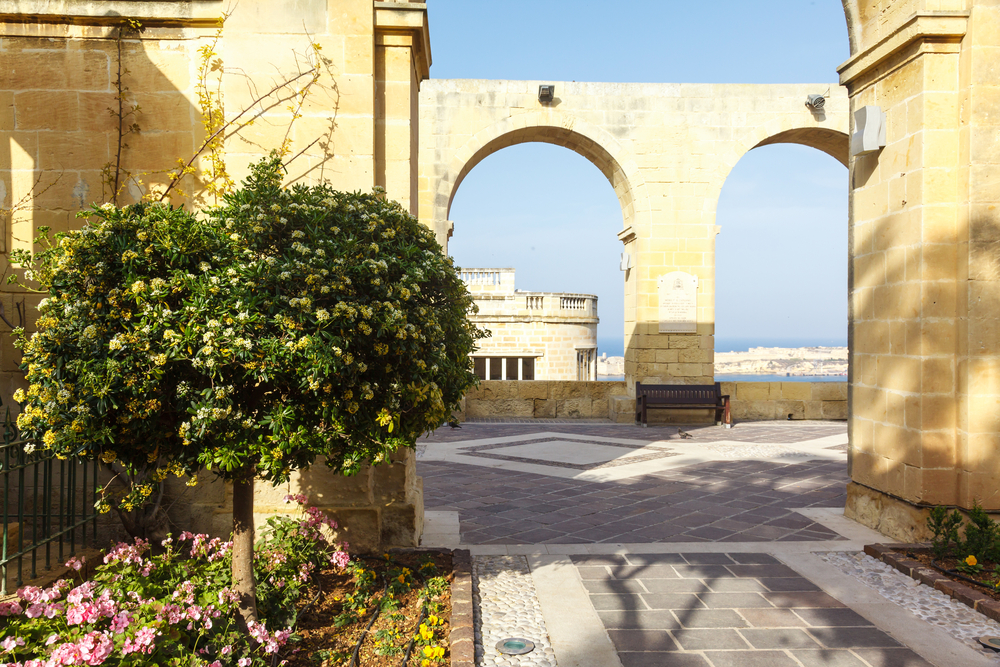 Places to visit in Malta Barrakka Gardens