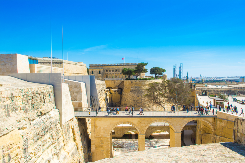 Places to visit in Malta Valletta city gate