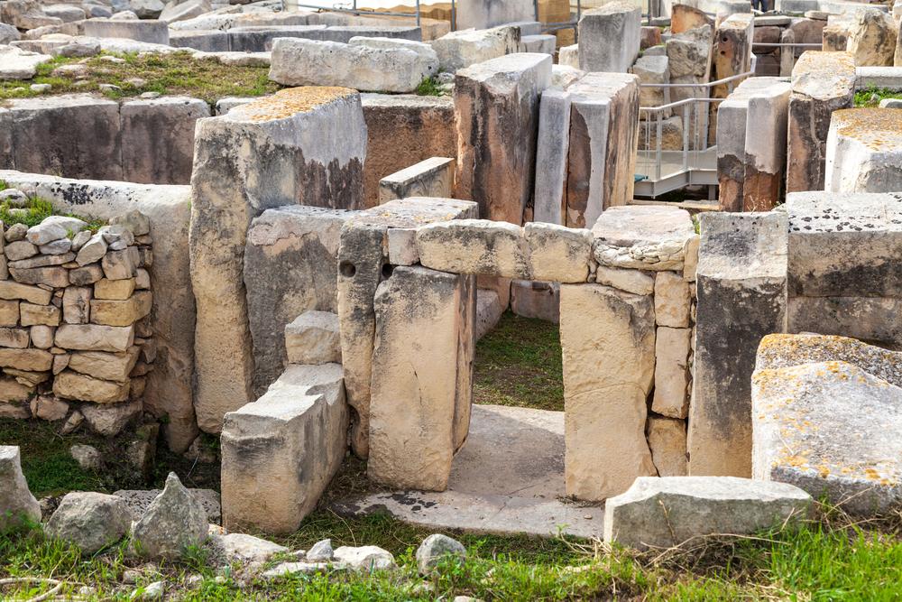 Places to visit in Malta Hagar Qim temple