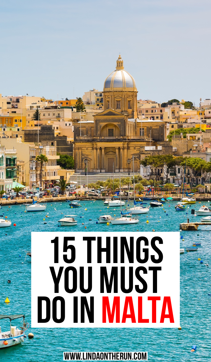 15 Things You Must do In Malta