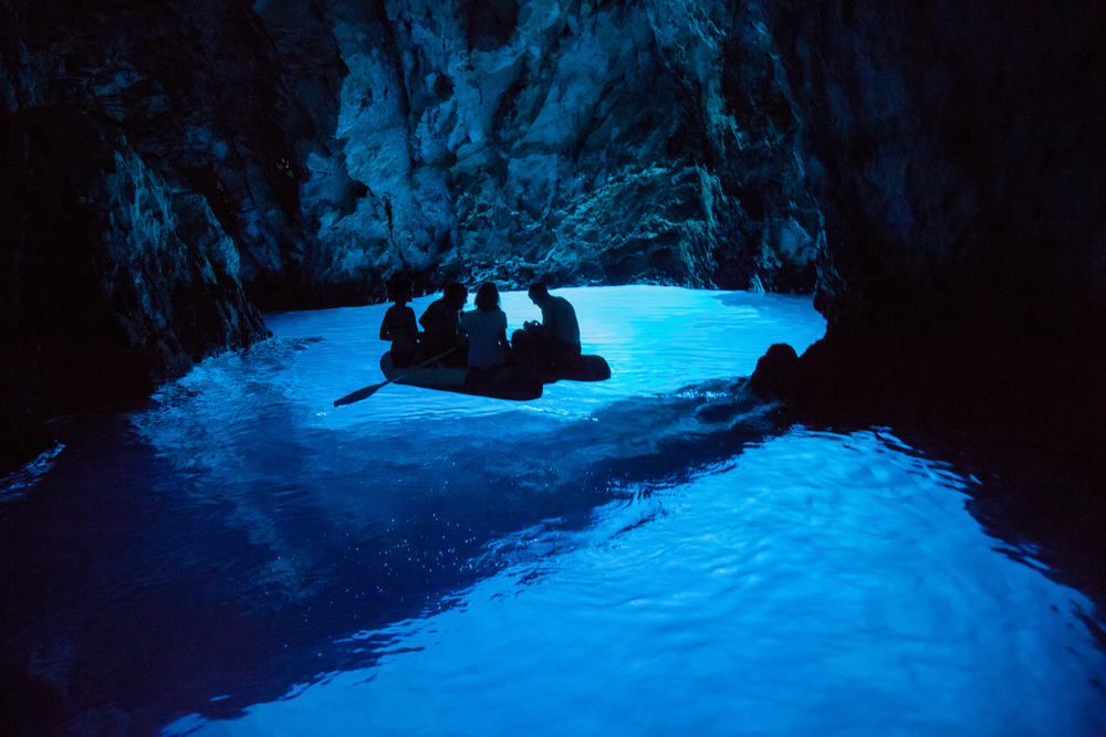 Day trips from Split Blue cave