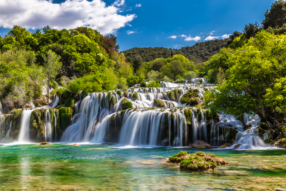 day trips from Split Skradinski Buk