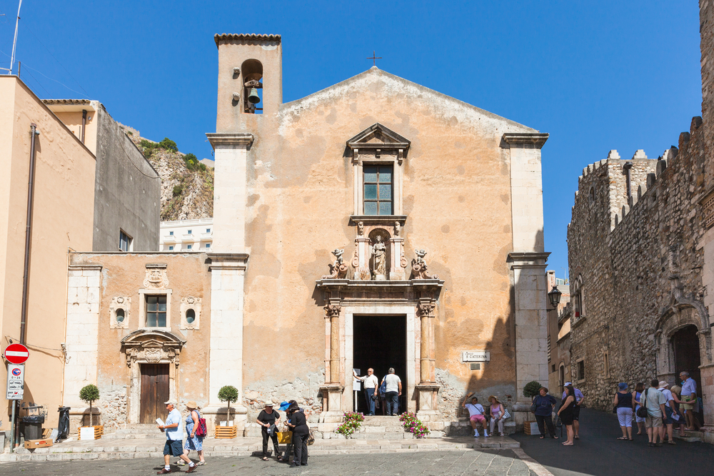 Things to do in Taormina St Catherine Church