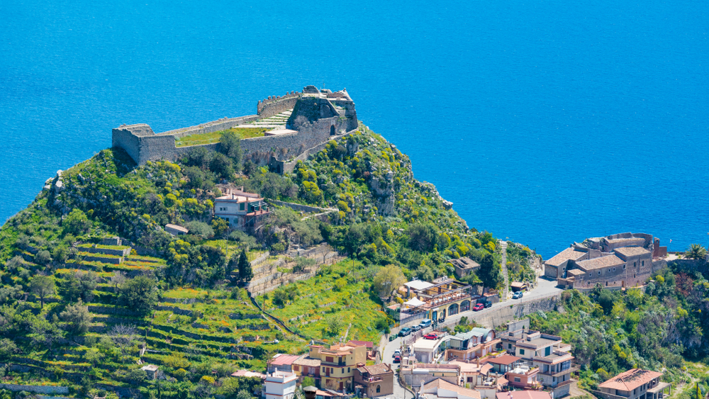Things To Do in Taormina beautiful castle