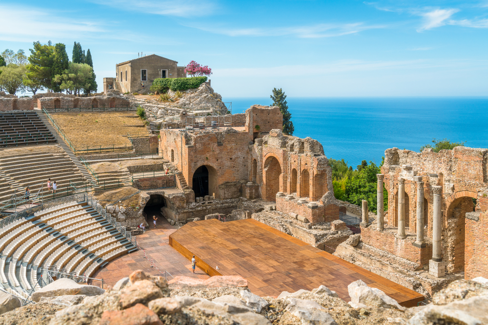 Things to do in Taormina Greco roman theatre