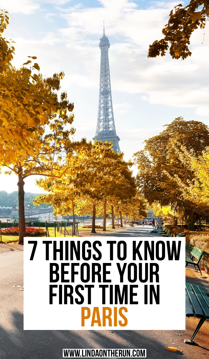 7 Things To Know Before Your First Time In Paris