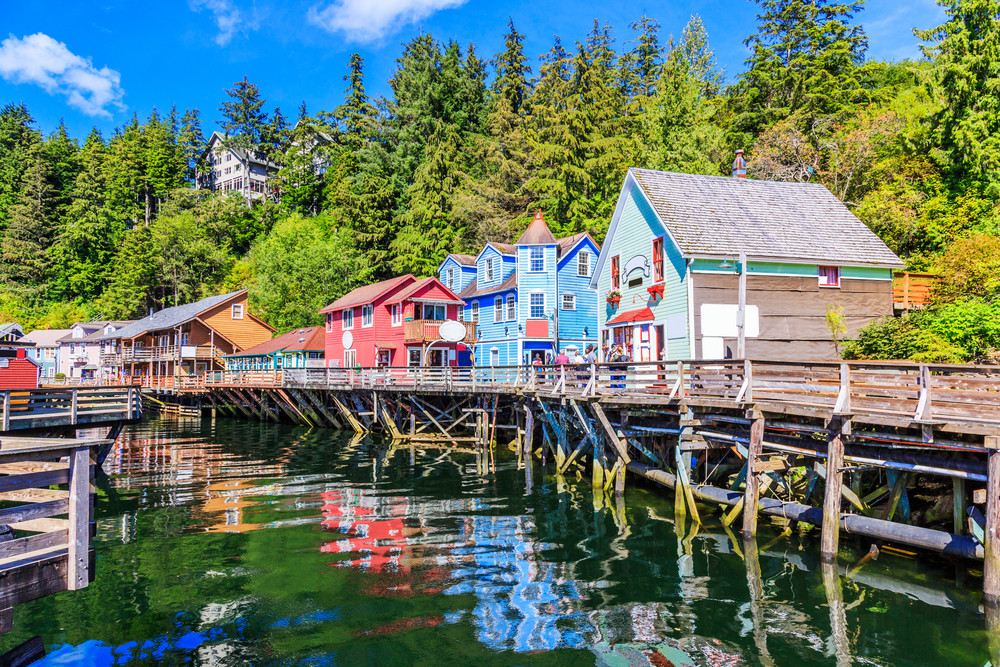 Alaska cities have their own charm