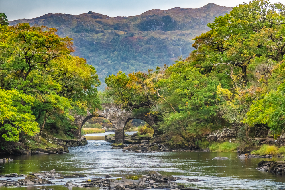Visiting Killarney should include seeing the Old Weir Bridge