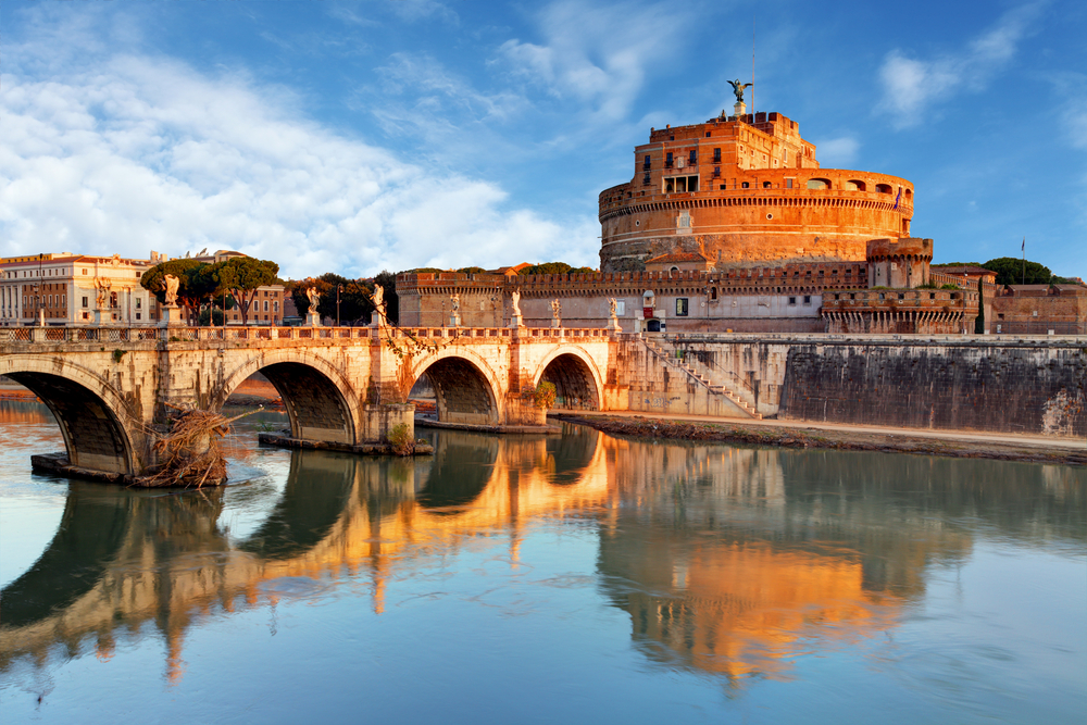 One day in Rome Castel Saint'Angelo