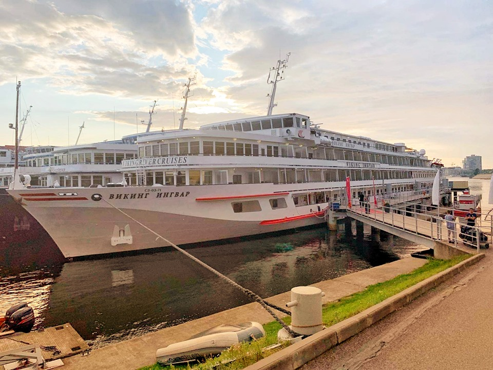 Russia River Cruise Ingvar ship