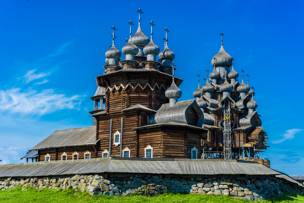 Russian River Cruise Kizhi wooden churches