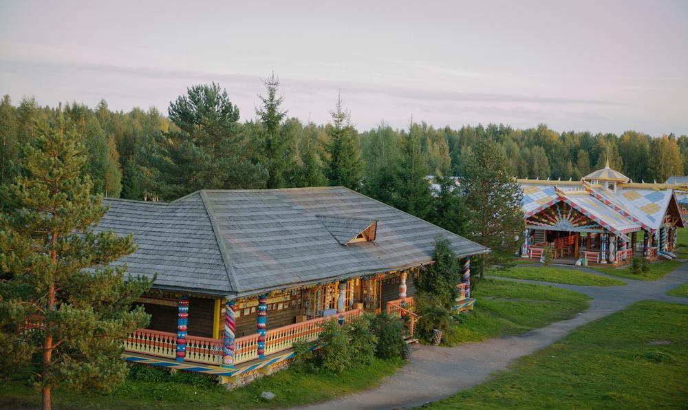 Russia River Cruise Mandrogy village