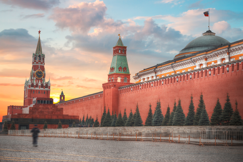 Russian River Cruise Moscow Kremlin