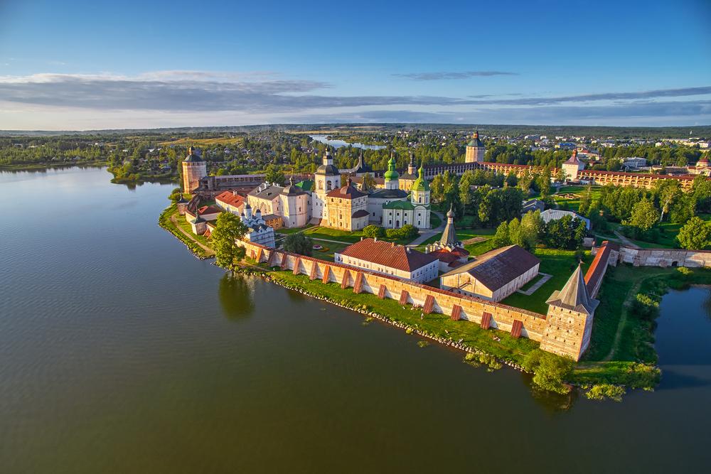 Russia River Cruise Kirillo monastery