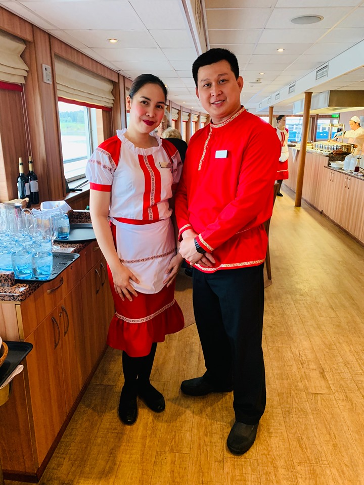 Russian River Cruise Restaurant Staff