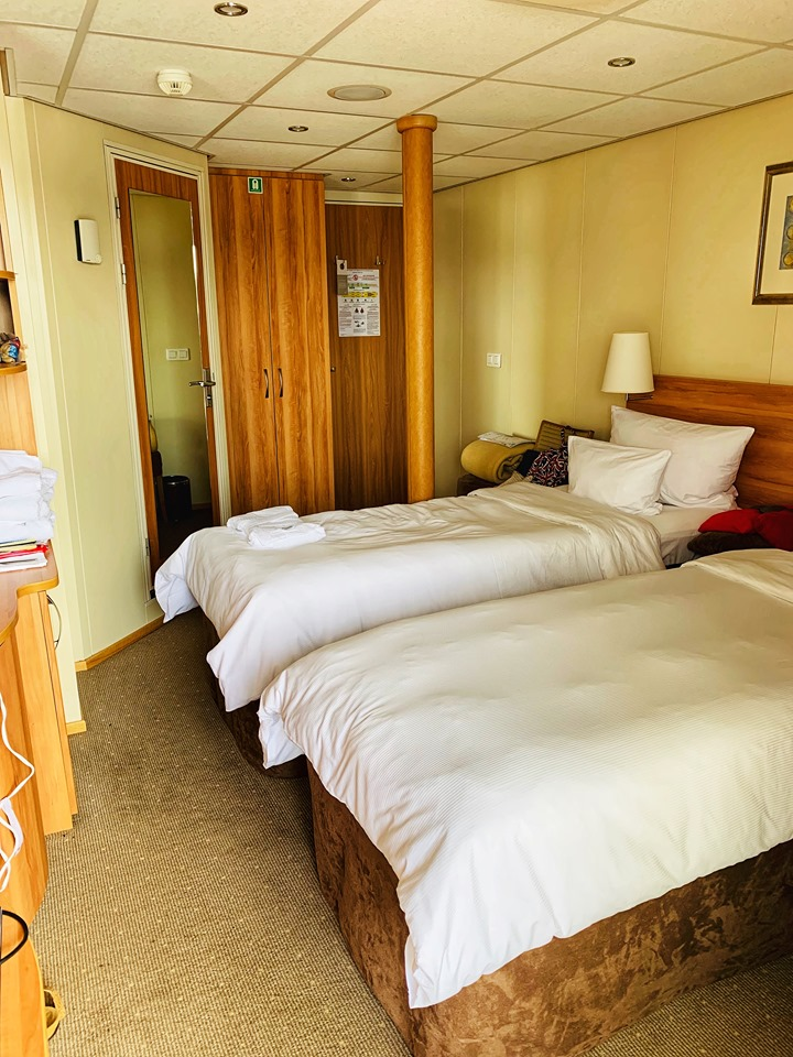 Russia River Cruise stateroom