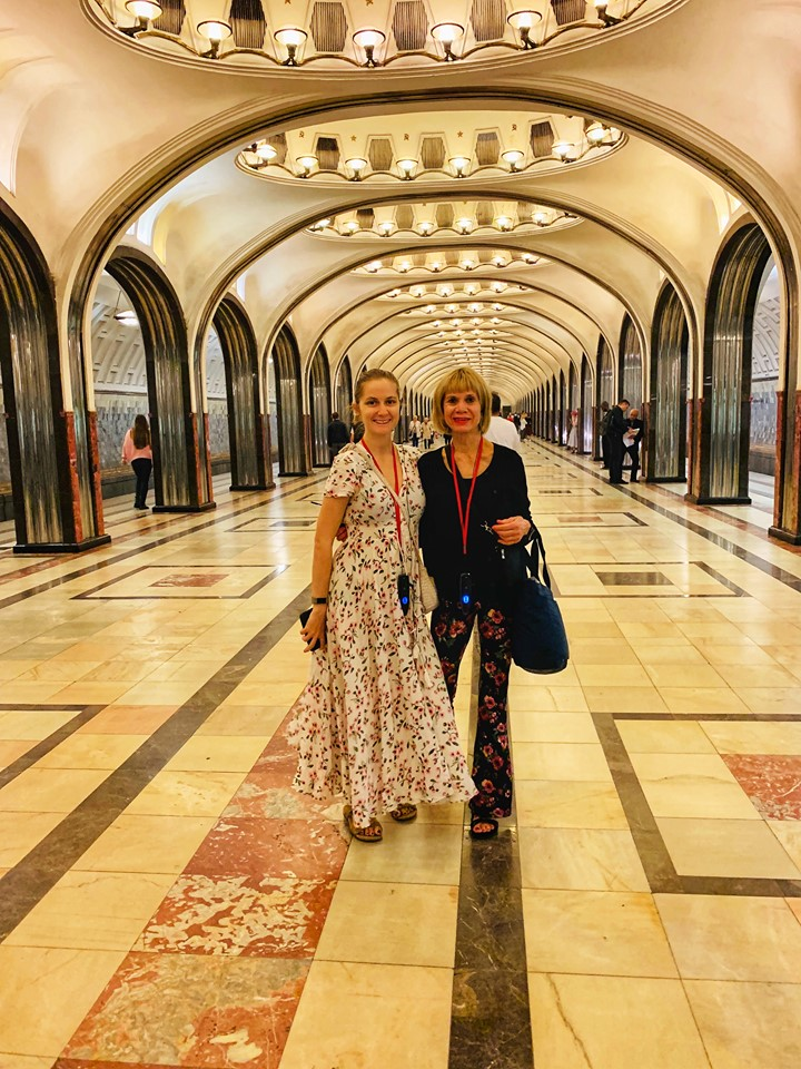 Russia River Cruise Moscow Subway station