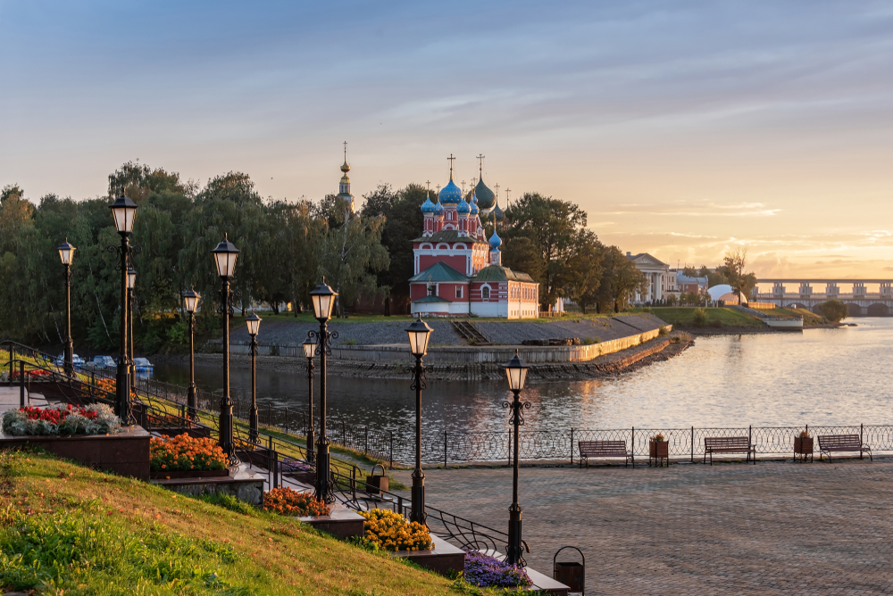 Russian River Cruise Uglich