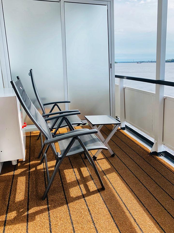 Russia River Cruise verandah