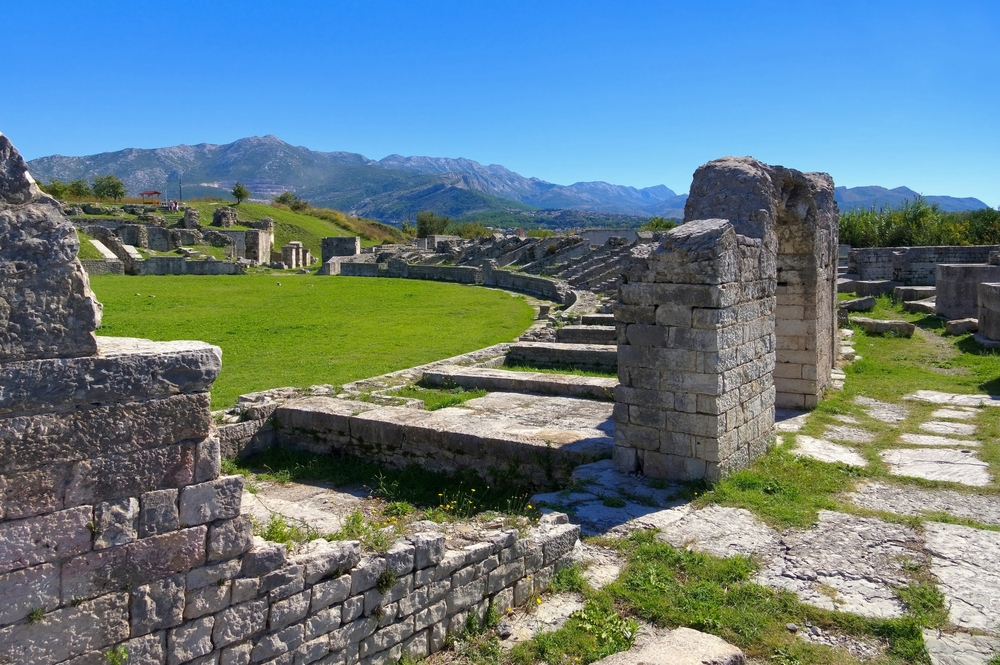 day trips from Split ancient city of Salona