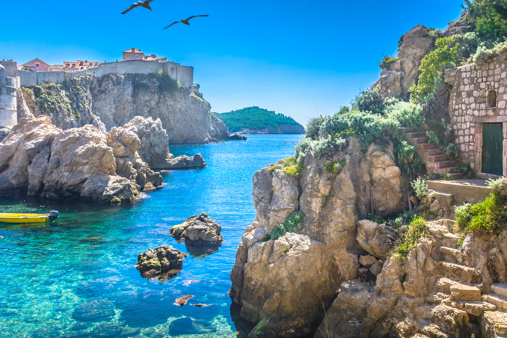 Day trips from Split brilliant waters