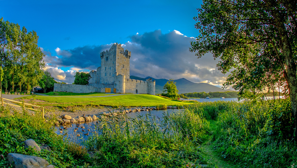 Visiting Killarney do not miss Ross Castle