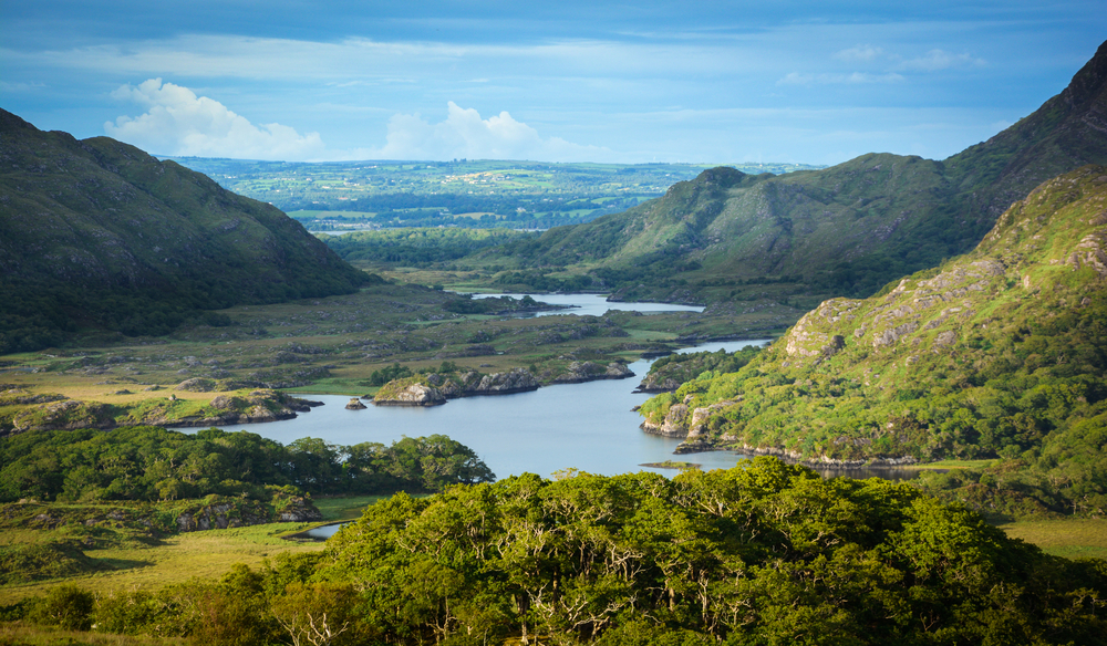 Ladies View is one of the great things to do in Killarney