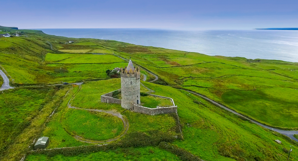 Ballinalacken Castle in the Burren Ireland