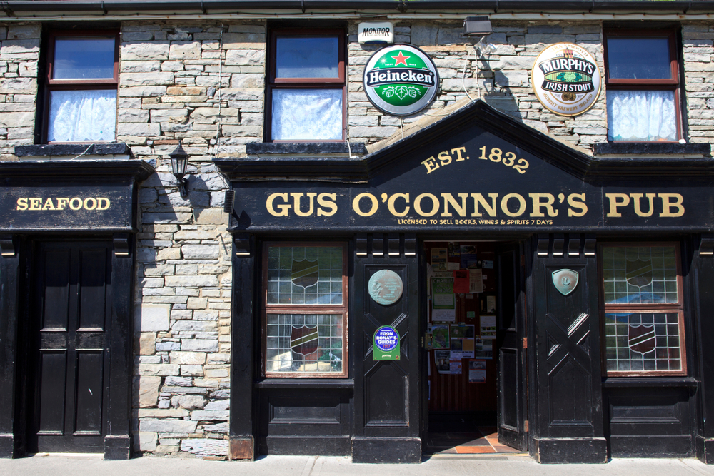 Things to do in Doolin is visiting Gus O'connor's Pub