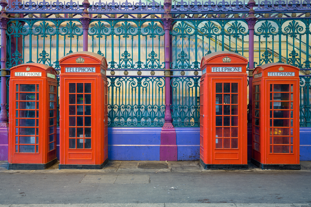 Unusual things to do in London red phone booths