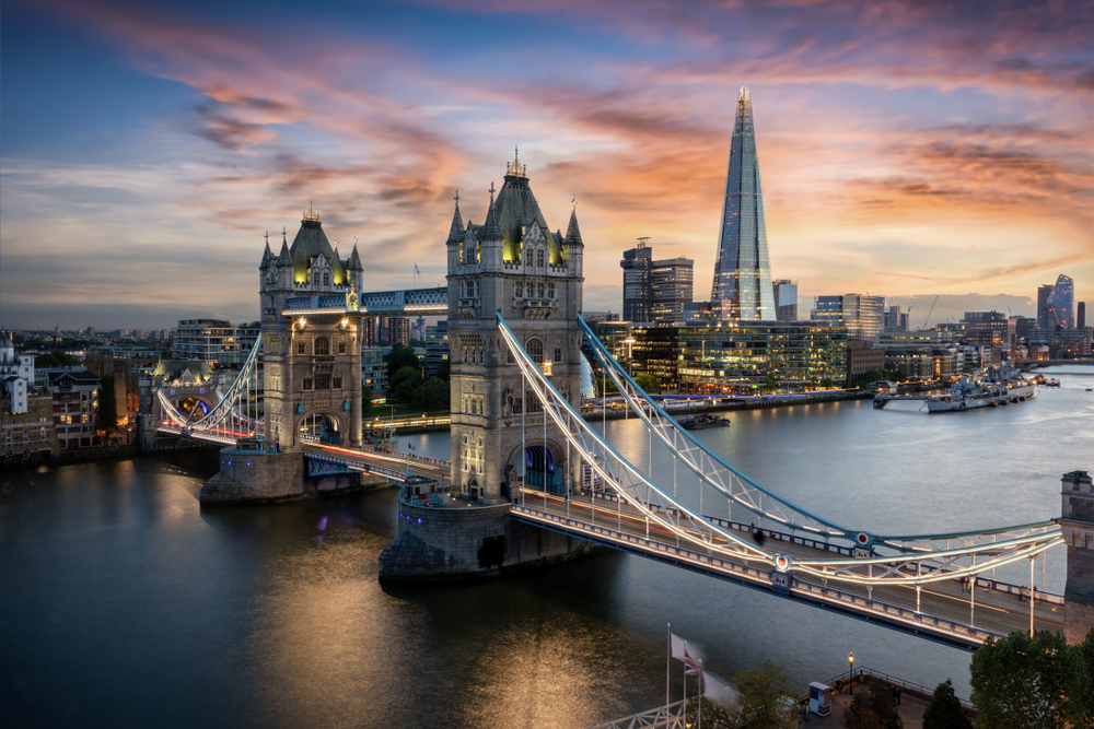Unusual places to visit in London at twilight