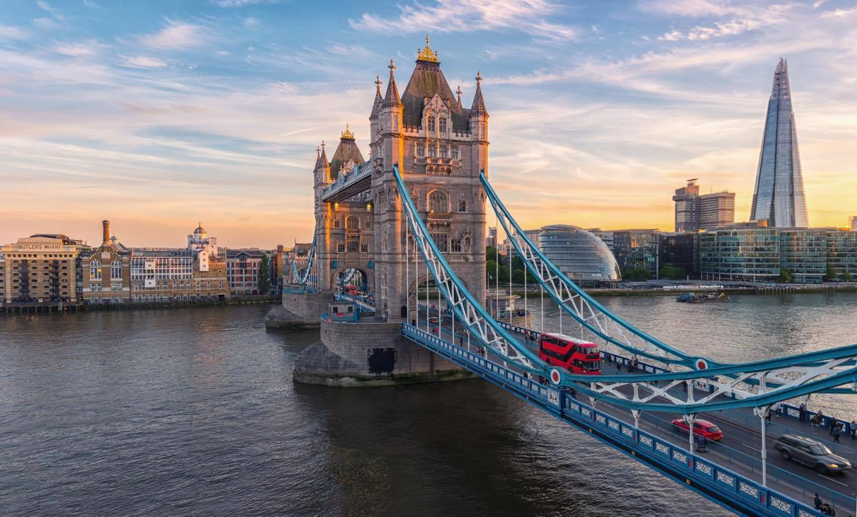 Enjoy looking for unusual things to do in London like visiting the Tower Bridge