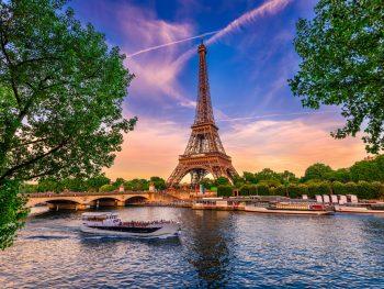 5 days in Paris Seine and Eiffel Tower