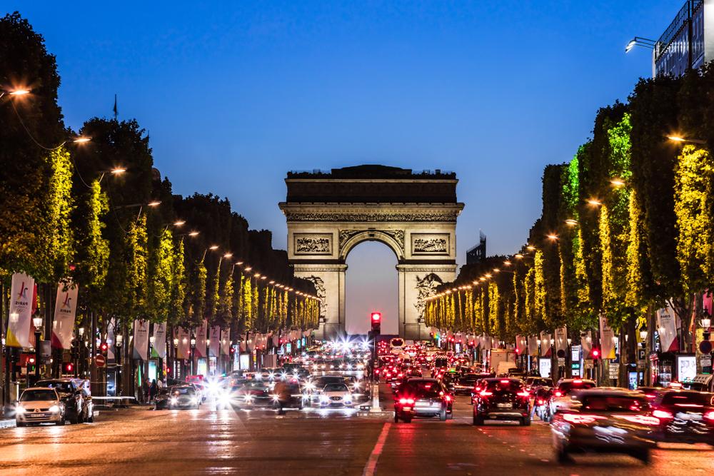 5 days in Paris Champs de Alyesse
