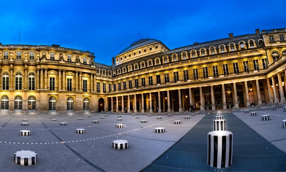 5 days in Paris Colonnes de Buren