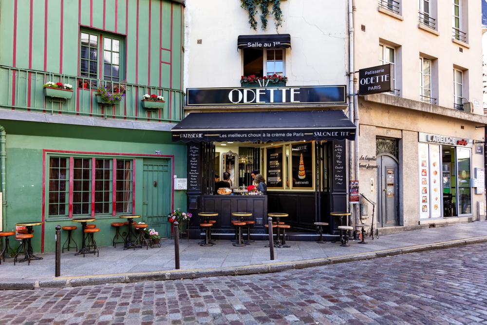 5 days in Paris Odette tea room