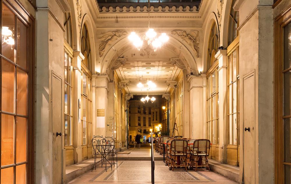 5 days in Paris Galerie Vivienne