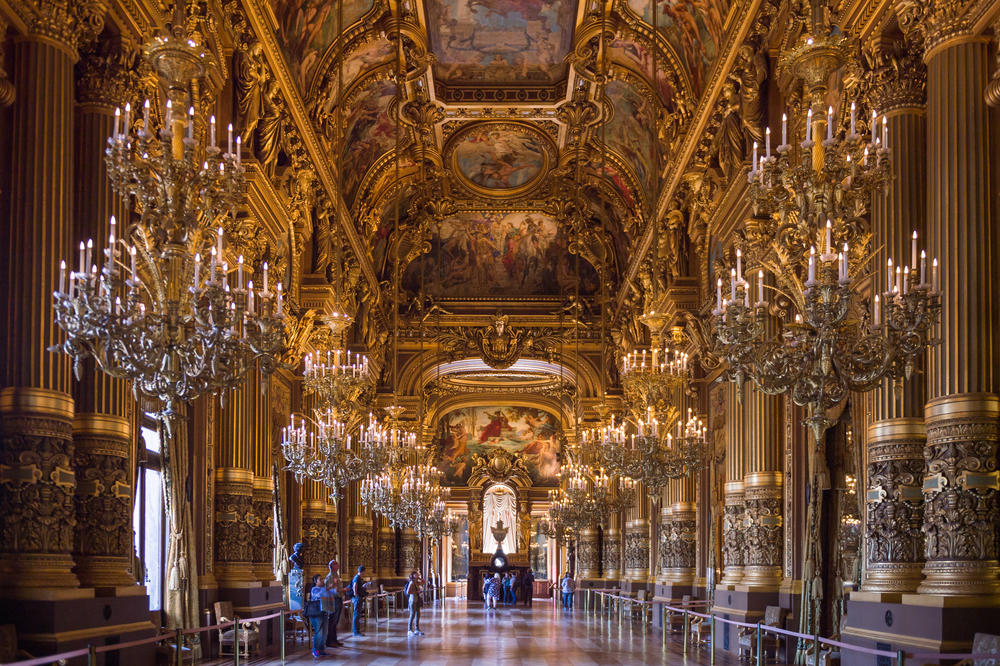 5 days in Paris opera house