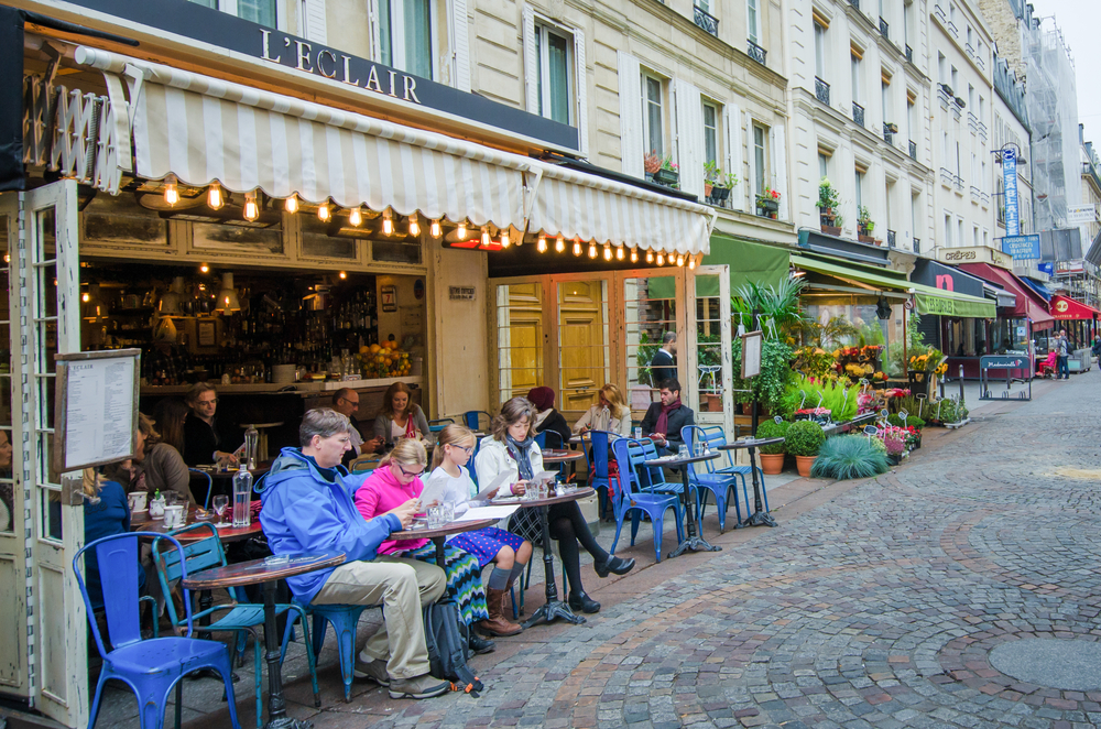 5 days in Paris Rue Cler