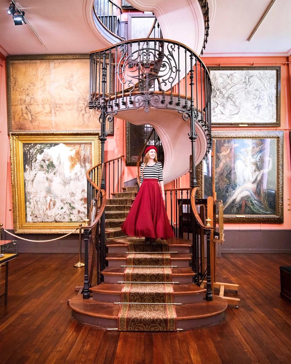 5 days in Paris Gustavo Moreau Museum