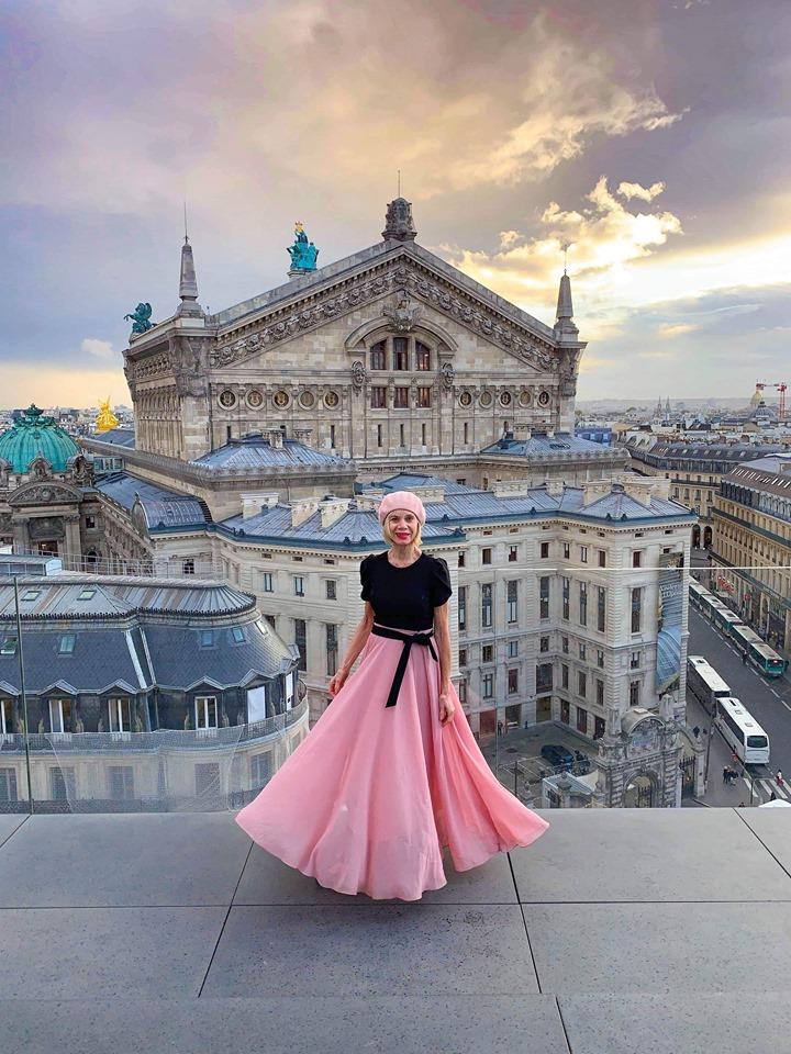 Best views in Paris from Galleries Lafayette rooftop terrace