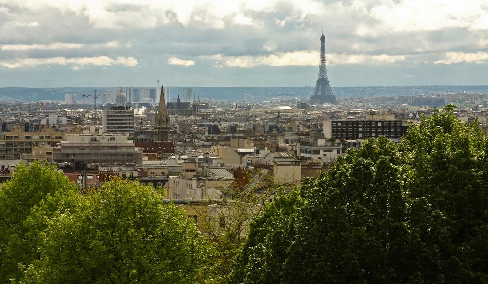 best views in Paris from Parc de Belleville