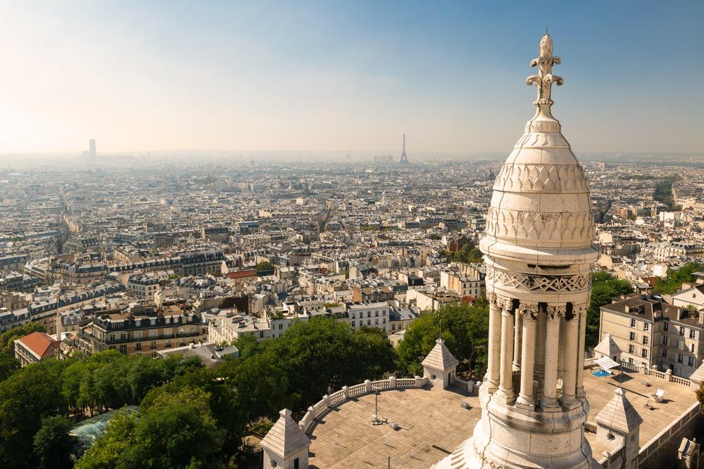Best views in Paris Sacre Courer Dome