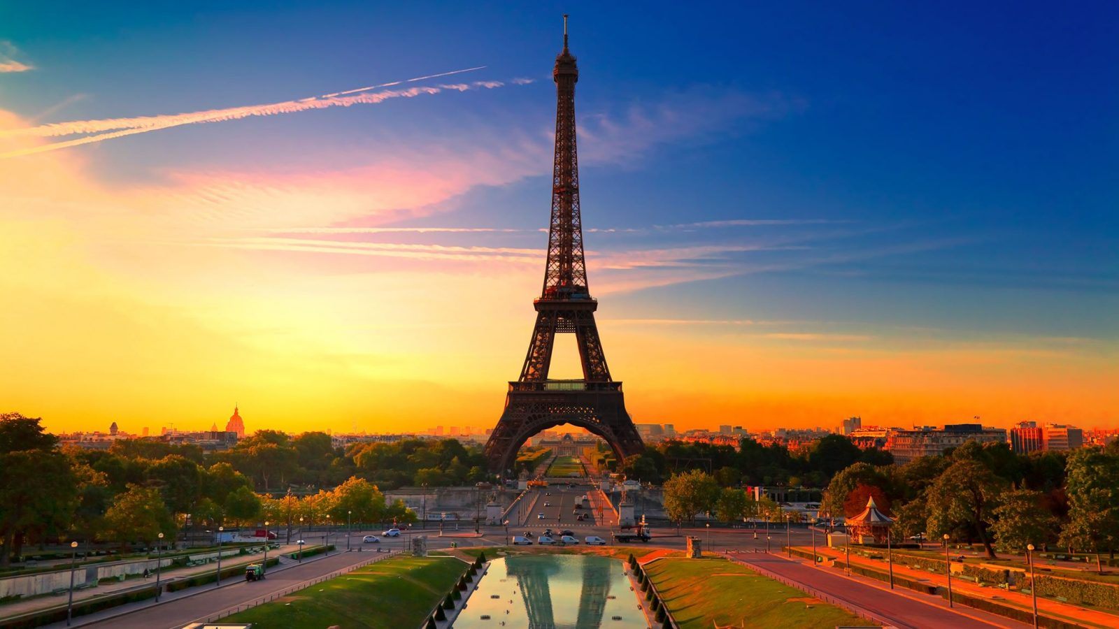 the best vies in Paris from the Trocadero