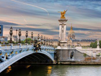 Bridges in Paris Ponte Alexander III