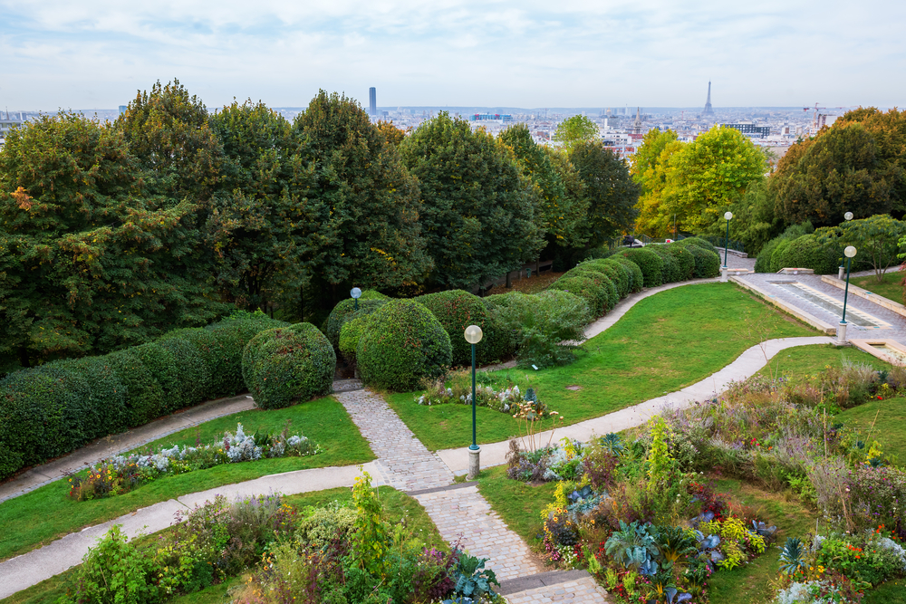 Gardens and Parks in Paris Park de Belleville